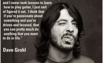 Dave Grohl on Passion